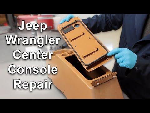 Center Console Lid Repair Using PlastiFix