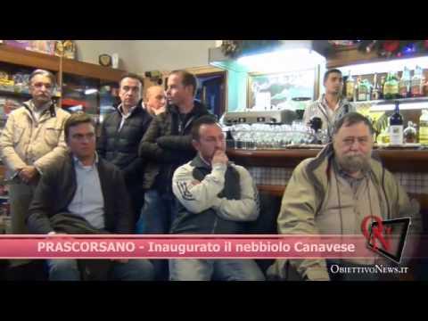 PRASCORSANO - Inaugurato il nebbiolo Canavese