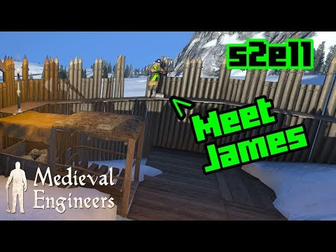 Gold Mining Operation - Medieval Engineers S2E11