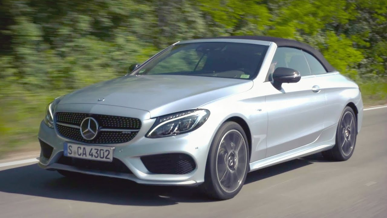 Mercedes Amg Coupe 2017 >> 2017 Mercedes C43 AMG 4MATIC Cabriolet Diamond Silver - YouTube