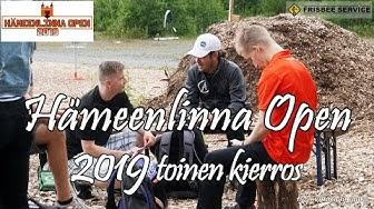 lcgm8 Disc Golf - Hämeenlinna Open 2019 toinen kierros
