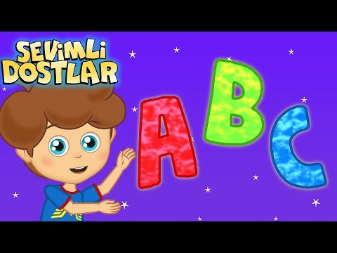 Çocuk Şarkıları Dinle 2018 Sevimli Dostlar ABC Alfabe | Kids Songs And Nursery Rhymes