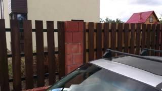 Забор деревянный из террасной доский(, 2013-09-27T10:50:43.000Z)