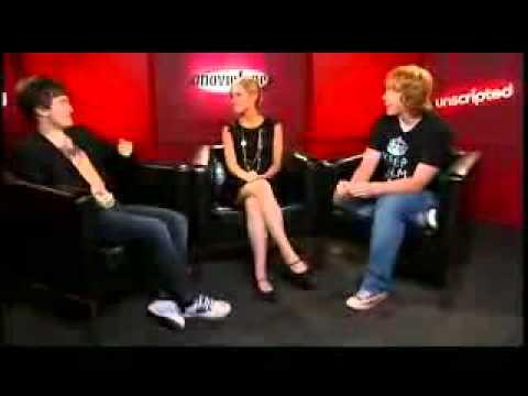 Daniel Radcliffe, Rupert Grint y Emma Watson - Unscripted (2007) (Subtitulado)