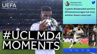 HAALAND, WALKER, RODRYGO: #UCL Matchday 4 Moments