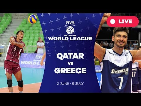 Qatar v Greece - Group 3: 2017 FIVB Volleyball World League