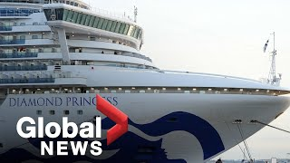 "Coronavirus outbreak: Couple on cruise ship trying to ""keep busy"" as quarantine continues"