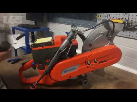 How to Change a Spark Plug on a Husqvarna K760 Disc Cutter   L&S Engineers