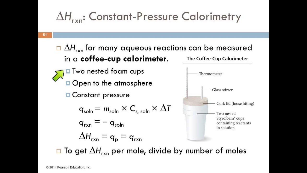 Coffee cup calorimeter problems - Coffee Cup Calorimeter Problems 7