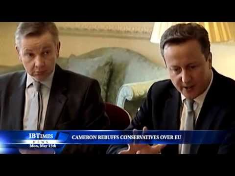 Cameron Rebuffs Conservatives over EU