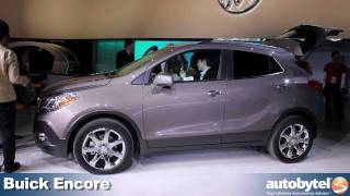 QUICK LOOK: Buick Encore luxury crossover at the 2012 Detroit Auto Show