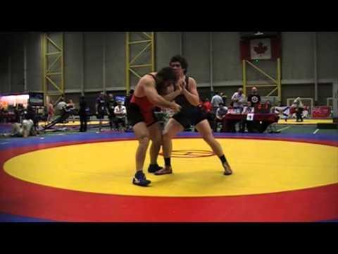 2014 Junior Greco-Roman National Championships: 96 kg Final Kyle Bonk vs. Angus Cowell