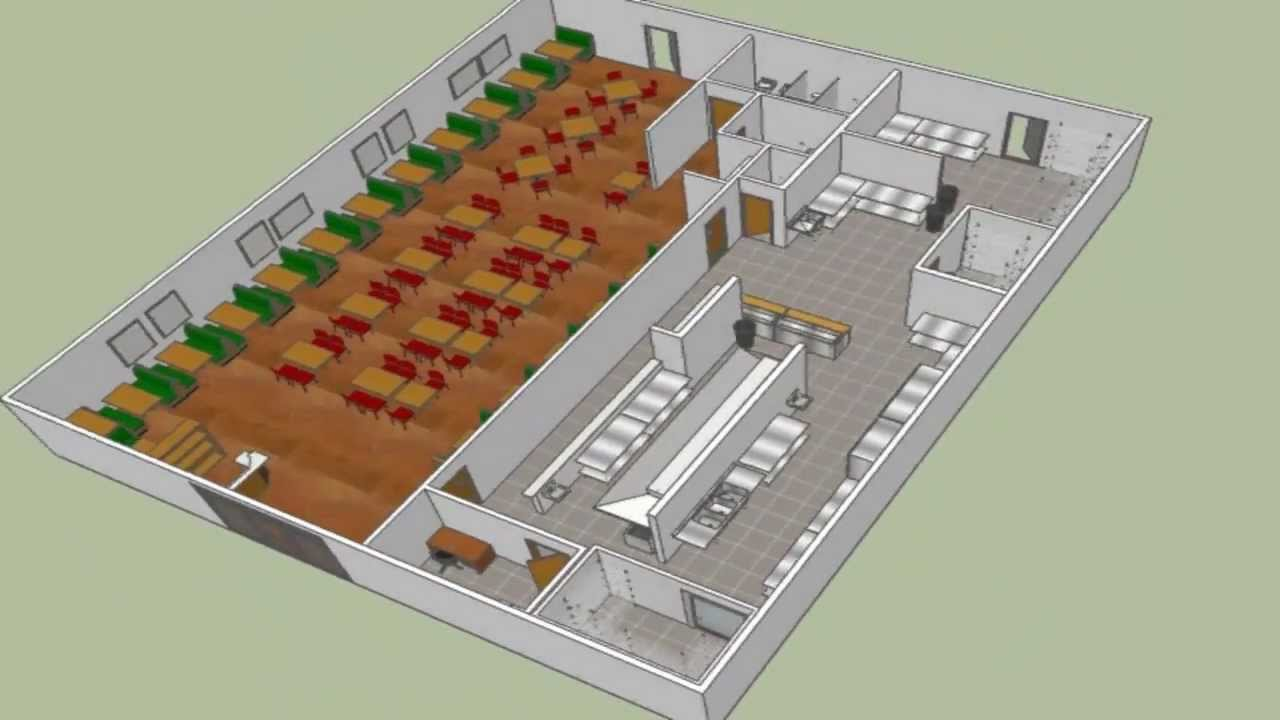 Small Restaurant Kitchen Plans