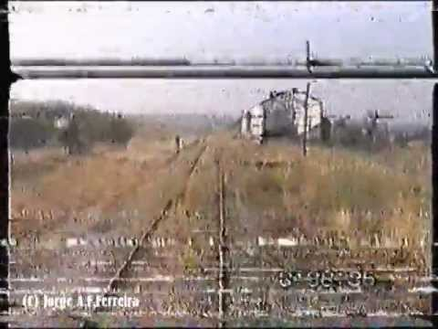 Ramal de Moura em drezine 1996 - Moura Line in works drezine (Closed Line)