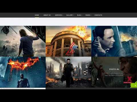 Movies Online - Multipage HTML Website Template TMT | Free Download D