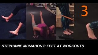 Stephanie Mcmahon Barefoot Midnight Workout Collection Reupload