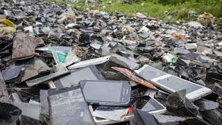Look for old phone in LCD trash can || Restoration old touch phone || samsung galaxy