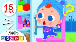 Open and Shut Song | Kids Songs & Nursery Rhymes by Little Angel