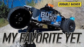 Gambar cover HOW TOUGH IS IT? - Thunder Tiger Bushmaster 1/8 Scale Desert Buggy Review