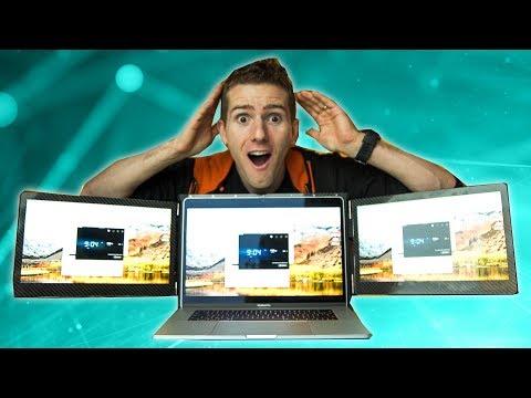 The REAL Triple Monitor Laptop - Slidenjoy