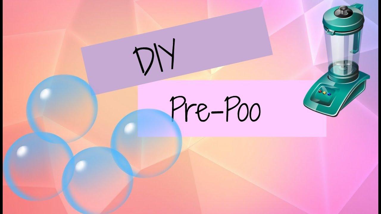 DIY Pre-Poo for Natural Hair