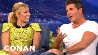 Simon Cowell & Demi Lovato Find Each Other Very Annoying - CONAN on TBS