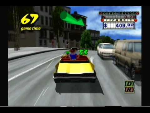 Crazy Taxi Review (Gamecube)
