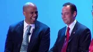 Cory Booker and Reince Priebus: The future of politics