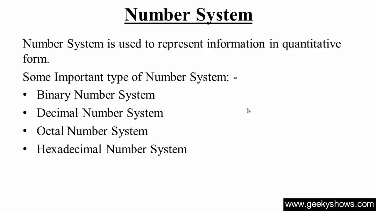 Define Meaning Of Hindi Number System (hindi) - Youtube