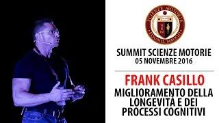 Estratto Summit: Miglioramento della Longevità e dei Processi Cognitivi - Frank Casillo
