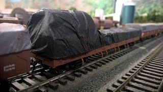 Model tren vagonları için branda nasıl