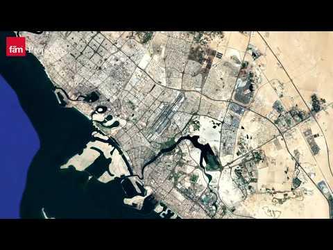 Creek Beach Dubai Creek Harbour Location Map