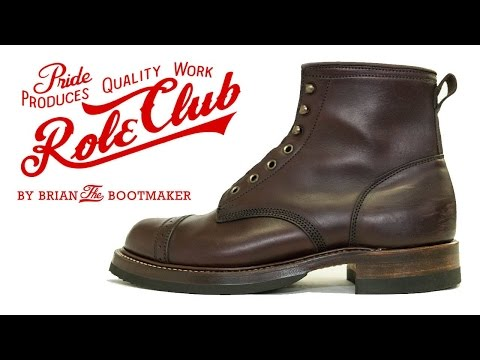 RRL Bowery Boot Resole #24