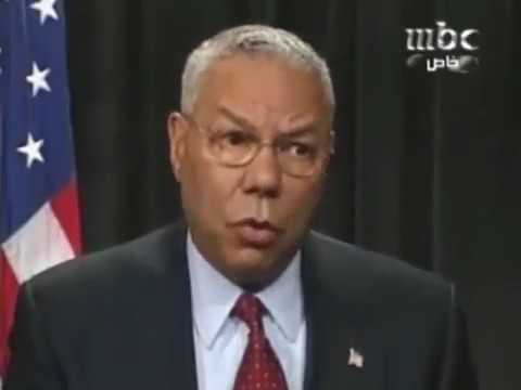 Aziz Fahmy's interview with Colin Powell for MBC on June 2004