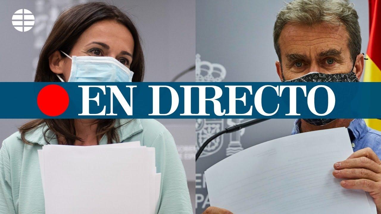 DIRECTO CORONAVIRUS | Rueda de prensa del Ministerio de Sanidad