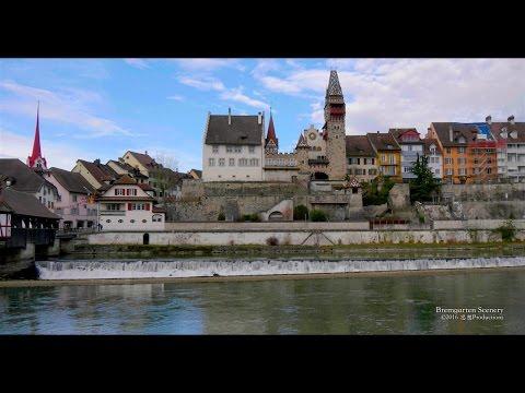 4K Bremgarten, Aargau SWITZERLAND GH4 log  LUT 24p 🎞スイス