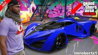 GTA 5 Online Best Beyond Neon Blue Grotti X80 Proto Crew Color Paint Job GTA Glitches