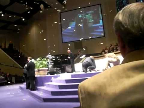 Money falls from heaven at North Cleveland Church of God