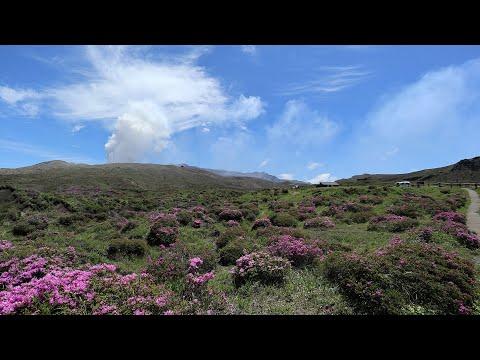 아소산 로프웨이 산책로 (20190521) - Walk paths near Mt.Aso Ropeway