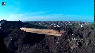Война видео Украина Позиционные бои Ukraine War 2015   War in Donbass YouTube