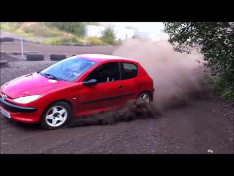 Jake McKenna: Peugeot 206 Rally Car Shakedown