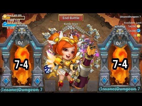 Castle Clash Insane Dungeon 7-4