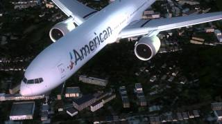 FSX HD VIDEO AMERICAN AIRLINES