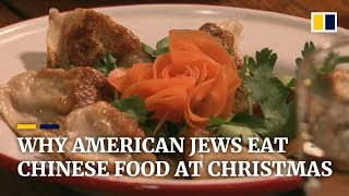 Chinese food has become a Christmas tradition for American Jews