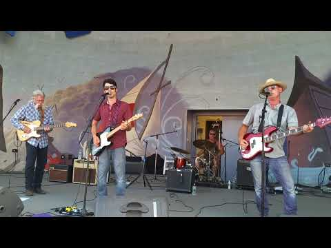 """Great South Bay Music Festival 7-15-18 Pete Mancini & the Hillside Airmen #2 """"My Town"""""""