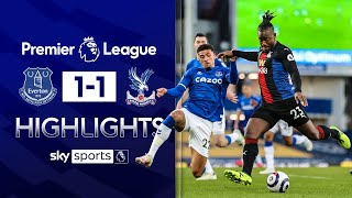 Batshuayi smashes in late equaliser | Everton 1-1 Crystal Palace | Premier League Highlights