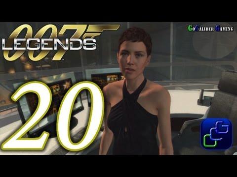 007 Legends Walkthrough - Part 20 - Moonraker: Space Port - Agent (Stealth Gameplay+ Optional)