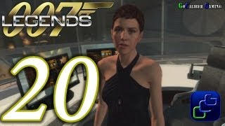007 Legends Walkthrough - Part 20 - Moonraker: Space Port - Agent (Stealth Gameplay Optional)
