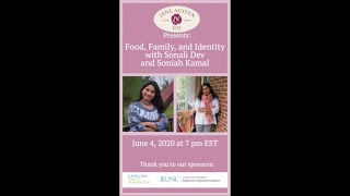 "Jane Austen and Company: ""Food, Family, & Identity With Sonali Dev & Soniah Kamal"""