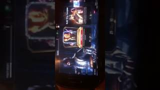 Mortal kombat x hack with (GameKiller) on android.